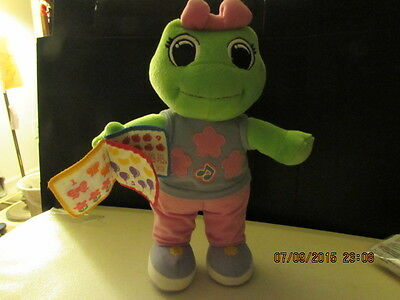 """LeapFrog Lily Lilly Plush Doll Counting on Me Spanish English 12"""" Stuffed Animal"""