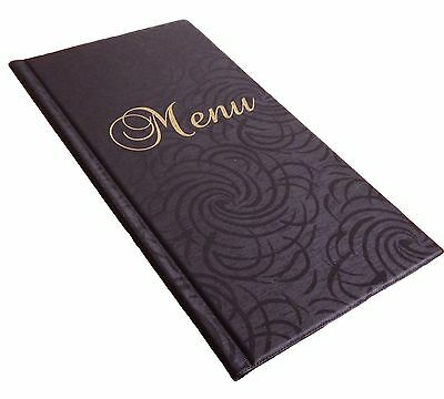 SALE! MENU COVER slim A4 up to 12 pages holder menu folder unique design WEDDING