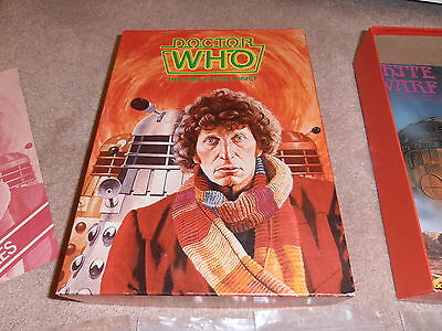 Doctor Who - The Game of Time and Space - Games Workshop - Tom Baker