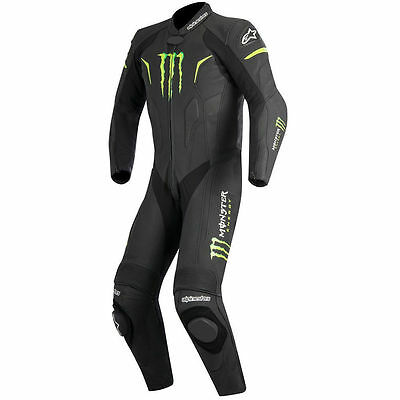 Monster Motorbike Leather Suit Motorcycle Dainese alpine Tailor Made Custom Fit