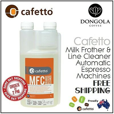GENERIC MFC MILK FROTHER & LINE CLEANER ORANGE Espresso Coffee Machine Clean 1lt