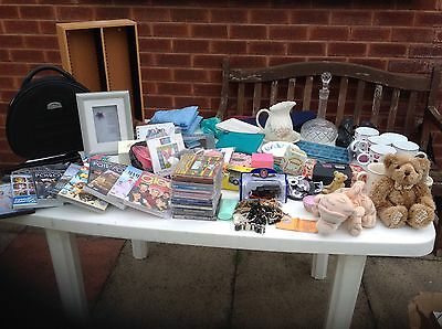 Job Lot Of Mixed Items For A Boot Sale