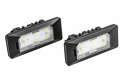 2x TOP LED SMD Kennzeichenbeleuchtung AUDI A4 8W2 B9 LIMO TÜV FREI /ADPN