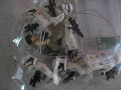 Star Wars Inspired - Stormtroupers10 String Led Fairy Lights Battery Operated