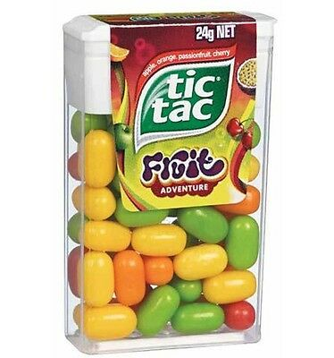Tic Tac Fruit Adventure x 24