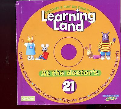 Learning Land PC CD Rom / No.21 - At The Doctor's