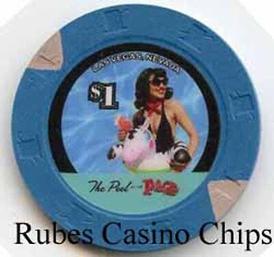 1.00 Chip from the Plaza Casino in Las Vegas Nevada Pool