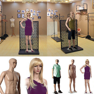 Display Mannequin Dummy Full Body Stand Shop Window Display Tailor Female Male