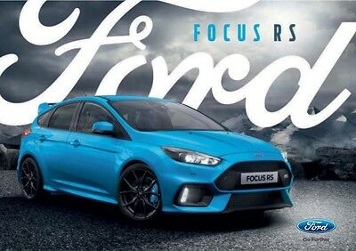 Ford Focus RS 2016 10 page Brochure PDF