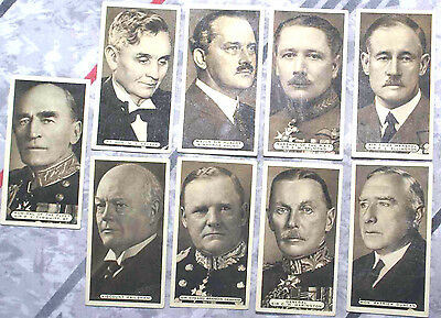 Empire Personalities Ardath Tobacco Cards