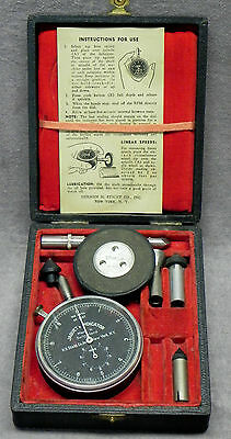 "Old ""Jaquet's Indicator"" Speed Tool + Attachments, Case, Instructions, Swiss, VG"