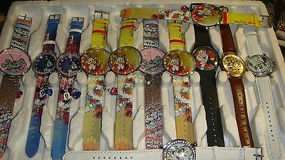 Trade Only Job Lot Of 12 X   Disney Watches 100% Gen . .