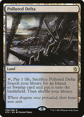 1x MTG KTK POLLUTED DELTA NM