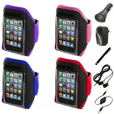 Gym Sports Armband Case Cover+Accessories for iPod Touch 4th 3rd 2nd Gen 4G 3G
