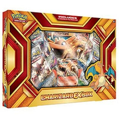 Pokemon Charizard Ex Box 4 TCG Booster Pack, Foil,& Oversized Trading Card Game