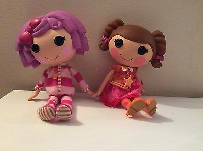Two Large Lalaloopsy Dolls