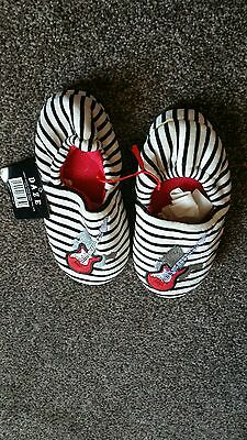 Rock guitar slippers size 1