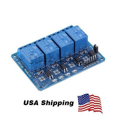 4-Channel 5V Relay Module Coupling Optocoupler High Trigger For MCU Arduino ARM