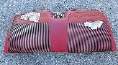 Chevy Impala Rear Seat Back With Speaker 2 Door SS 1961-1964 J11722