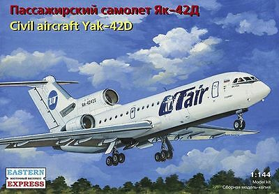 1:144 Eastern Express 14499 - Soviet Aircraft YAK-42D UTair / EMERCOM of Russia