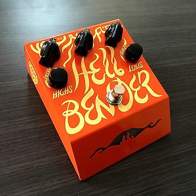 DEEP TRIP PEDALS - Hellbender Fuzz Guitar Pedal - Brand New!  Authorised Dealer