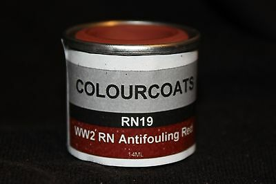 Colorcoats WWII RN Anti-Fouling Red  (RN19)