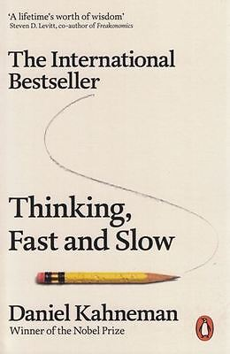 Thinking Fast and Slow by Daniel Kahneman NEW