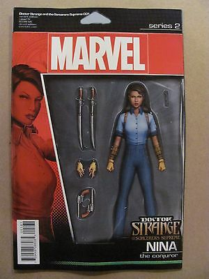 Doctor Strange And The Sorcerers Supreme #1 Action Figure Variant 9.6 Near Mint+