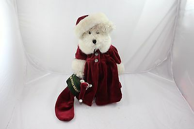"""Boyds Bears Plush Tasha Frostberry Limited Edition with Tag/stand 13"""""""