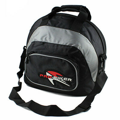 Waterproof Motorcycle Motorbike Scooter Helmet Bag Carry Bag Deluxe Soft Lining
