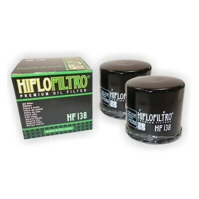 OIL FILTER 2 PACK HI-FLO FOR SUZUKI DL1000 V-Strom 2002 to 2010