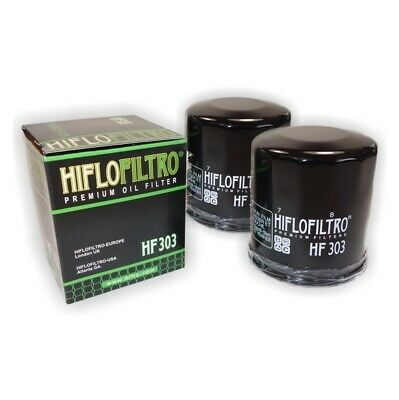 HI-FLO OIL FILTER 2 PACK FOR KAWASAKI ER-6N ER650  2007 to 2014