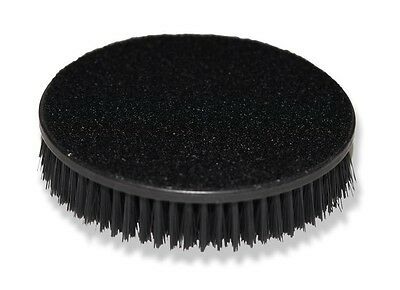 "Carpet Seat Upholstery Mat 5"" Round Spinner Brush Hook-N-Loop Backing Attachment"