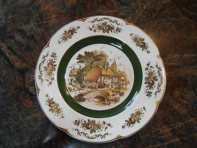 Vintage Ascot Service Decorative Plate Wood and Sons England 10.5 inches