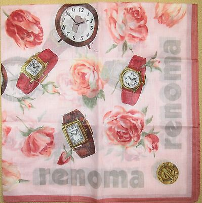 RENOMA *Watches Handkerchief /ARARESK*33