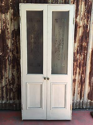 Timber French Doors With Frame 935w X 2050h
