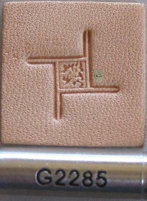 G538 Craftool Geometric Stamp Tandy Leather 6538-00
