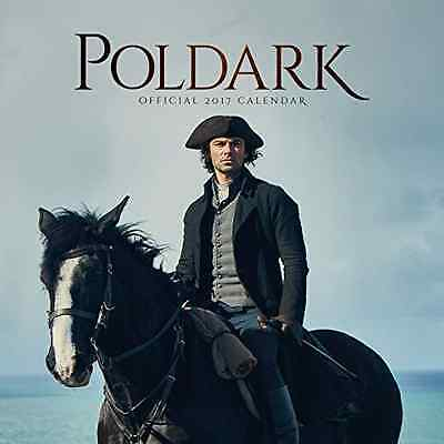 Poldark Official 2017 Calendar (Square)