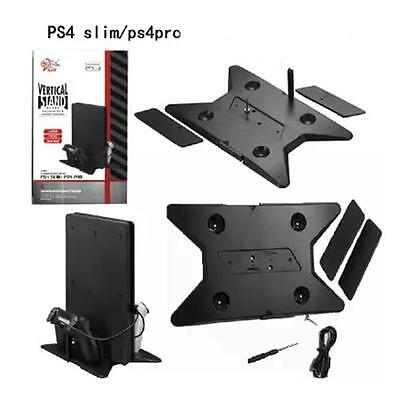 Universal 2-in-1 Vertical Holding Stand for PS4 Pro & PS4 Slim