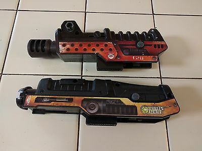 Lot of 2 WowWee Light Strike Laser Tag 023 Sights Replacement Attachment