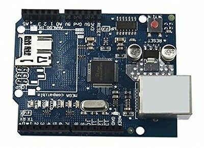 Ethernet Shield W5100 For Arduino UNO R3 Mega 2560 1280 A057 By Atomic Market