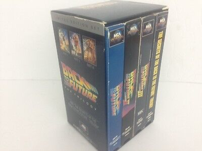 Back to the Future The Trilogy Limited Edition 4 VHS Set