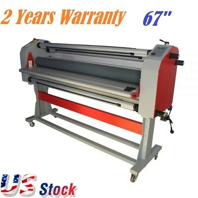 "USA Stock - Ving 63"" Semi-auto Master Mounting Wide Format Cold Laminator"