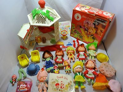 STRAWBERRY SHORTCAKE Lot of DOLLS Butterfly NIB - Gazebo Animals Accessories