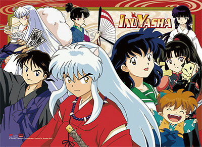*NEW* InuYasha: Group High End Landscape Wall Scroll by GE Animation