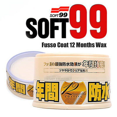 Soft99 Fusso 12 months Auto Care Waterproof Wash Detailing Light Long-term Wax