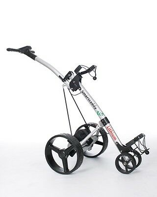 NEW ELECTRIC LITHIUM GOLF TROLLEY by SMARTCADDY FREE SHIPPING