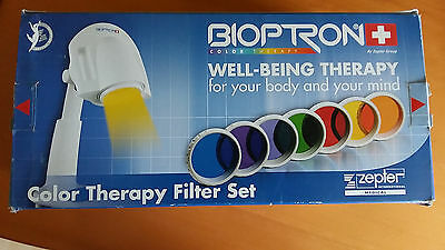 Billiger! Bioptron 7 Color Well-Being Therapy Filter Set Swiss Made by Zepter