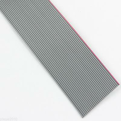 2M / 6.5FT 0.635mm Pitch 30 Pin Wire Flat Ribbon Cable For 1.27mm FC Connector