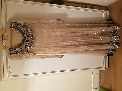 indian /pakistani pure chiffon partywear size medium